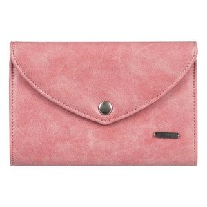 Roxy Stop Here Tri-Fold Wallet, Lobster Bisque